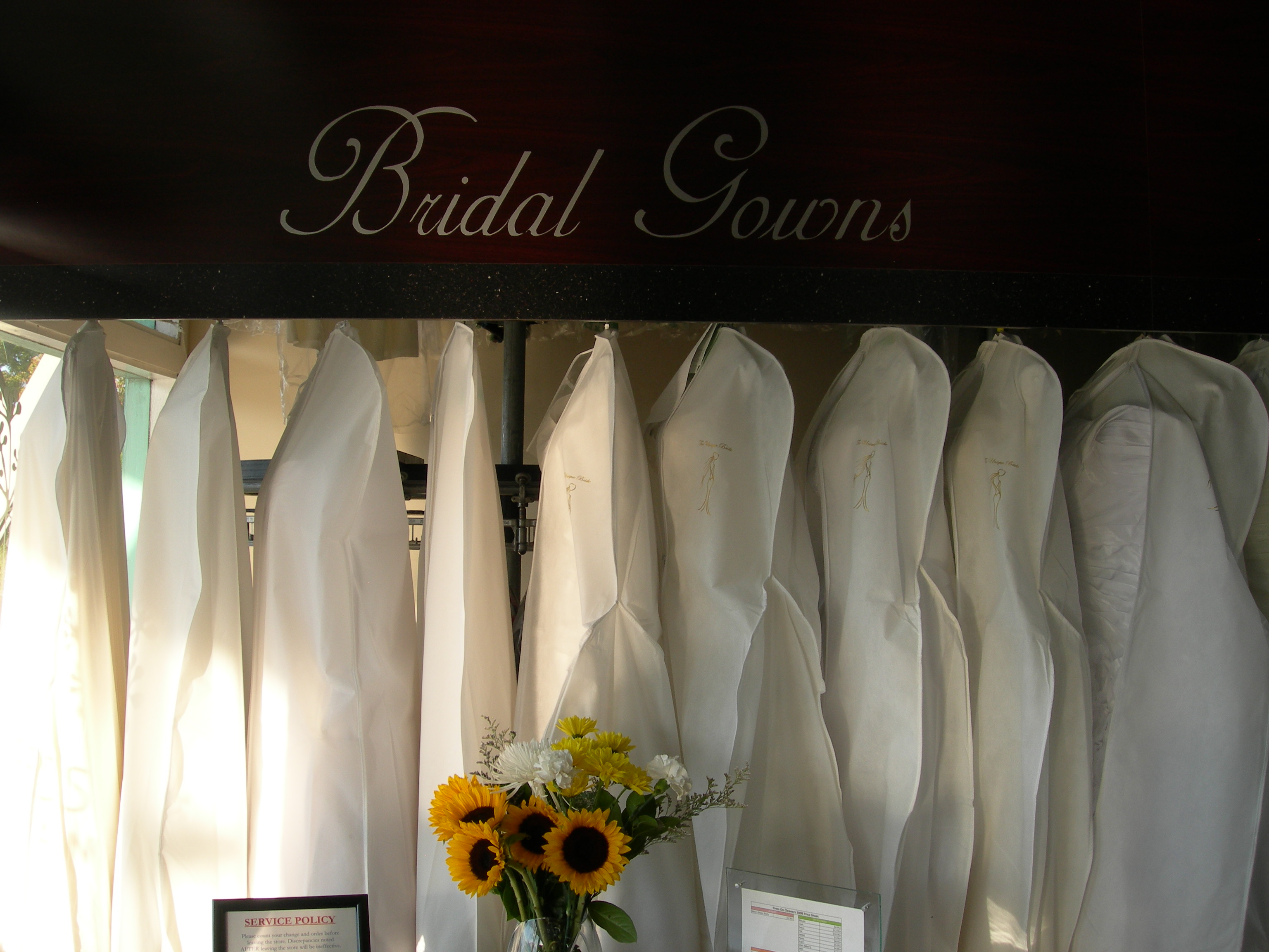 Karl Huie  Pacific Heights CleanersWedding Gowns   yourgreendrycleaner com. Dry Cleaner Wedding Dress. Home Design Ideas